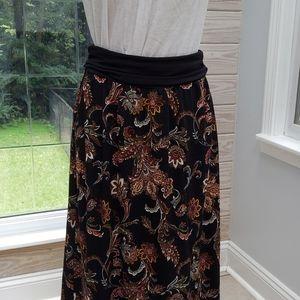 Apt. 9, hi-low skirt size Large, NWOT.